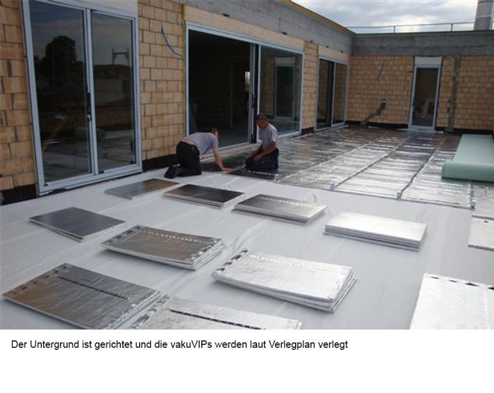Fußboden U Wert ~ Anwendungsgebiete vaku isotherm